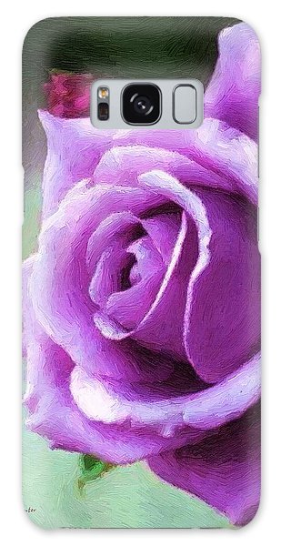 Lavender Lady Galaxy Case by RC deWinter