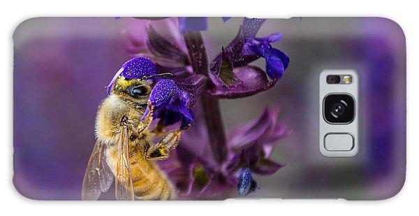 Lavender Lady Galaxy Case