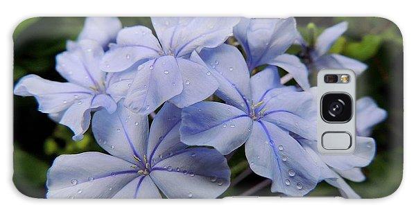 Lavender Raindrops Galaxy Case