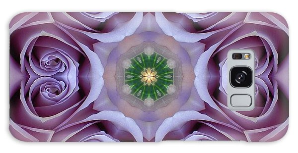 Lavender Rose Mandala Galaxy Case