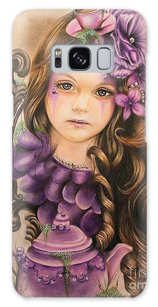 Lavender  Galaxy Case by Sheena Pike