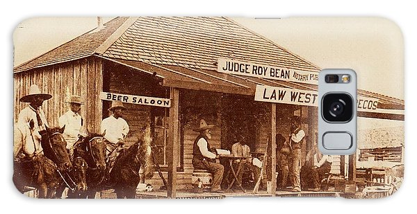 Law West Of The Pecos Galaxy Case by Pg Reproductions