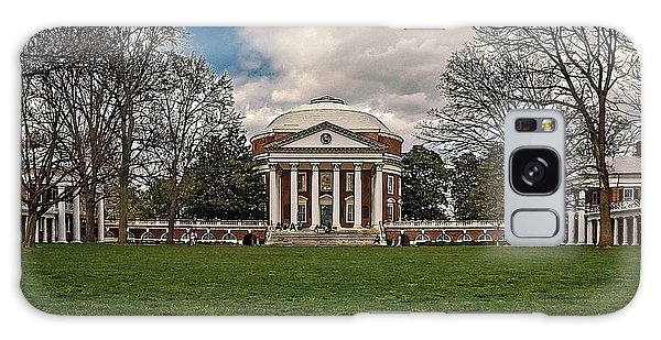 Lawn And Rotunda At University Of Virginia Galaxy Case by Jerry Gammon