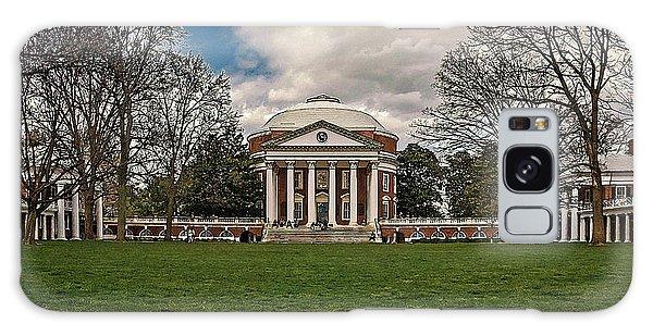 Lawn And Rotunda At University Of Virginia Galaxy Case