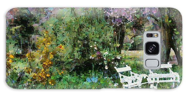 Lawn Chairs In The Garden Galaxy Case