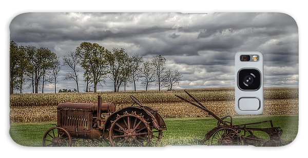 Lawn Tractor Galaxy Case by Ray Congrove