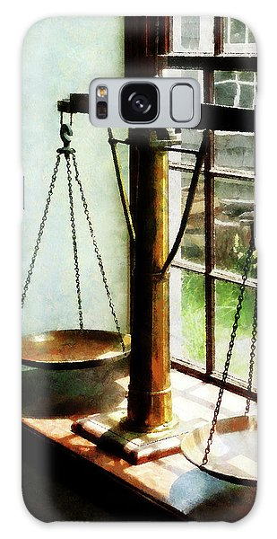 Lawyer - Scales Of Justice Galaxy Case by Susan Savad