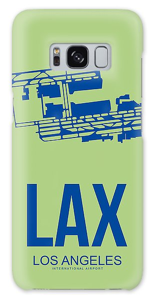 City Scenes Galaxy S8 Case - Lax Airport Poster 1 by Naxart Studio