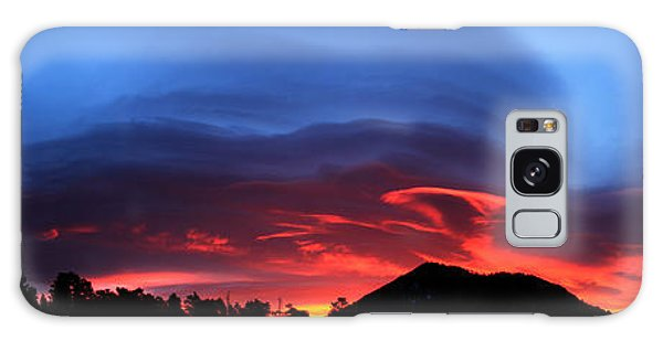Layers In The Sky - Panorama Galaxy Case