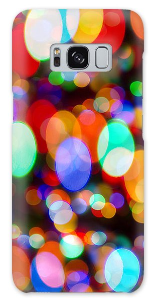 Layers Of Colorful Lights Galaxy Case