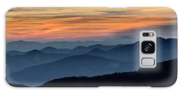 Layers Of The Blue Ridge Mountains Galaxy Case