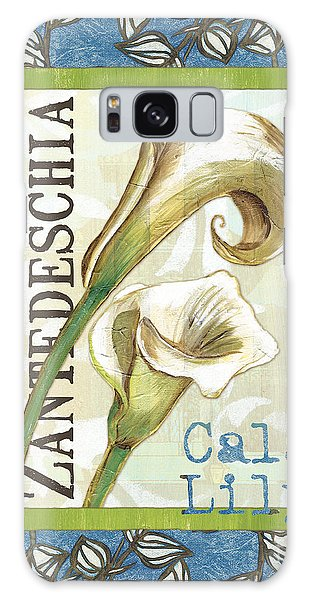 Lily Galaxy Case - Lazy Daisy Lily 1 by Debbie DeWitt