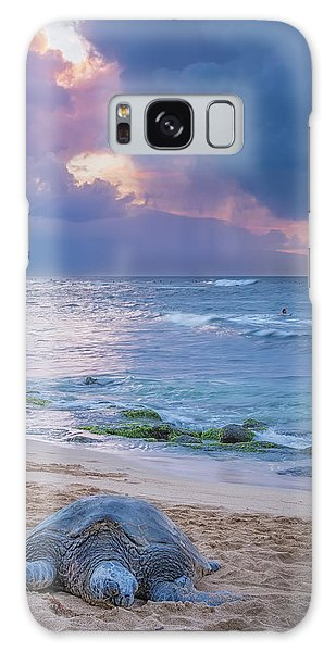 Lazy Days On Maui Galaxy Case by Hawaii  Fine Art Photography