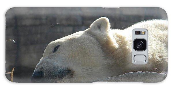 Lazy Polar Bear Galaxy Case