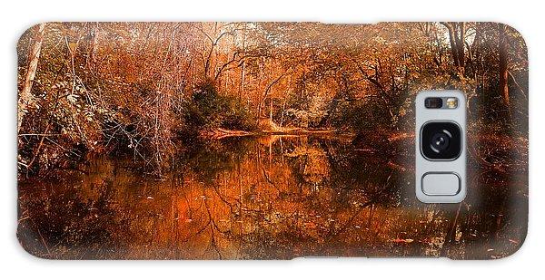 Lazy River Autumn Galaxy Case