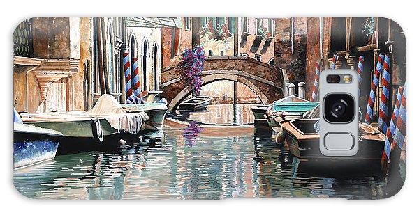 Dock Galaxy S8 Case - Le Barche E I Pali Colorati by Guido Borelli
