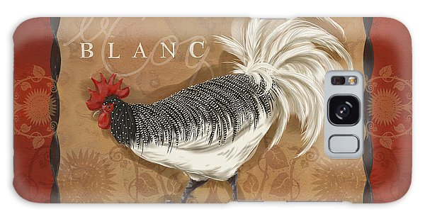 Le Coq Rooster Blanc Galaxy Case