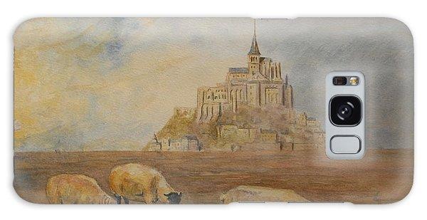Tides Galaxy Case - Le Mont Saint Michel by Juan  Bosco