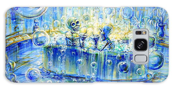 Le Toilette II Galaxy Case by Heather Calderon