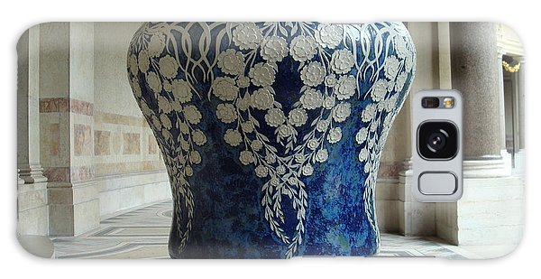 Le Vase Bleu Galaxy Case by Kay Gilley