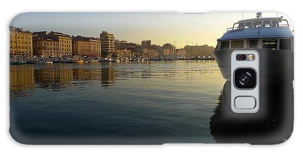 Le Vieux Port Marseille Galaxy Case