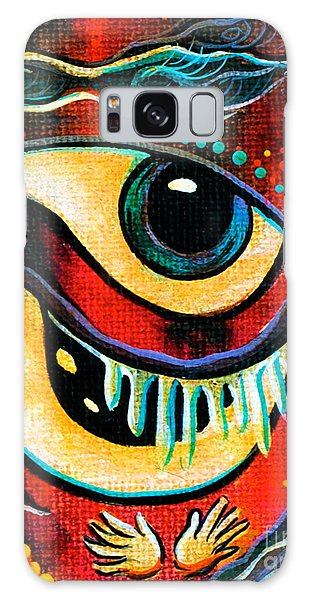 Leadership Spirit Eye Galaxy Case