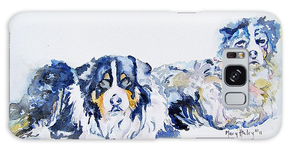 Leadville Street Dogs Galaxy Case