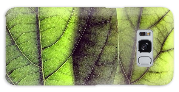 Leaf Abstract Galaxy Case by Christy Beckwith
