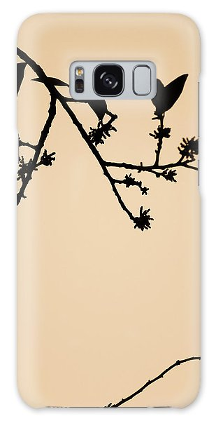 Leaf Birds Galaxy Case by Darryl Dalton