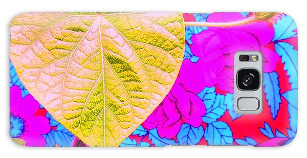 Leaf Heart Galaxy Case