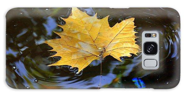 Leaf In Pond Galaxy Case