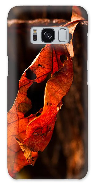 Leaf On A Wire Galaxy Case