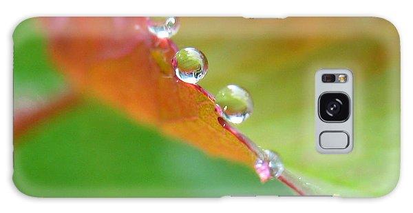 Leaf Pearls Galaxy Case by Patti Whitten