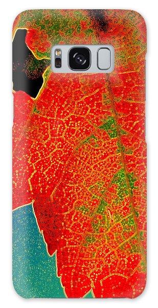 Leaf Pop Galaxy Case by Kathy Bassett