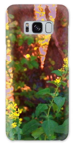 Leafy IIi Galaxy Case by Shirley Moravec