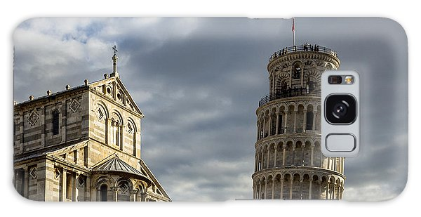 Leaning Tower And Duomo Di Pisa Galaxy Case