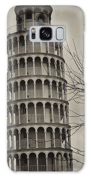 Leaning Tower Galaxy Case by Miguel Winterpacht