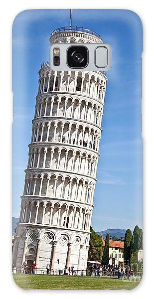 Leaning Tower Of Pisa Galaxy Case by Liz Leyden