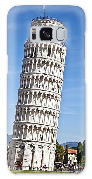 Leaning Tower Of Pisa Galaxy Case