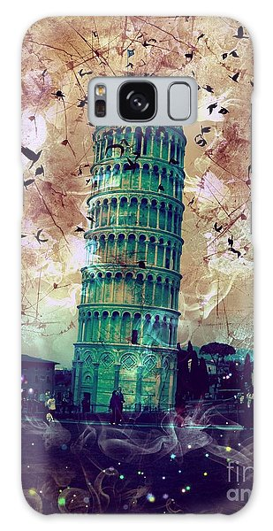Leaning Tower Of Pisa 1 Galaxy Case