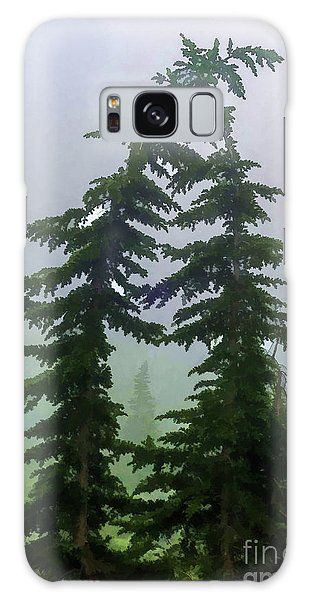 Leaning Trees Galaxy Case