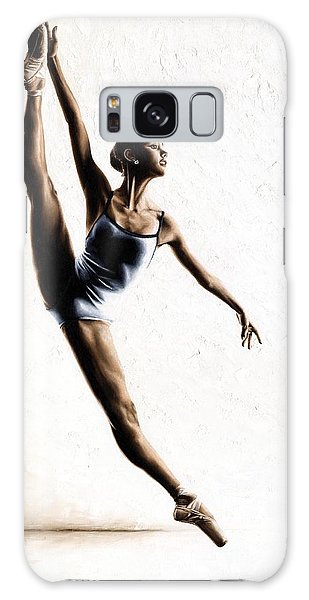 Ballerina Galaxy Case - Leap Of Faith by Richard Young