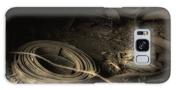 Leather Strap Still Life Galaxy Case