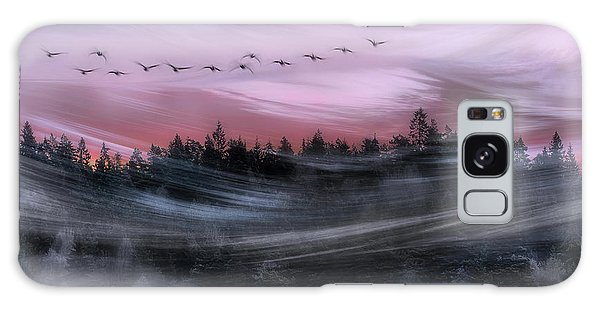 Goose Galaxy Case - Leaving At Dawn by Bjorn Emanuelson