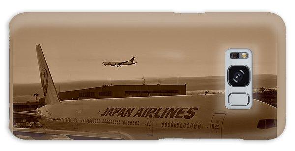 Leaving Japan Galaxy Case