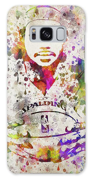 Lebron James In Color Galaxy Case by Aged Pixel