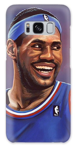 Sportsman Galaxy Case - Lebron James  by Paul Meijering