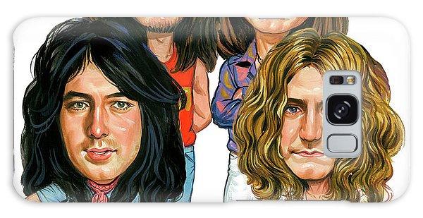 Led Zeppelin Galaxy Case by Art