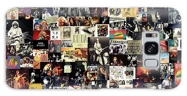 Led Zeppelin Collage Galaxy Case