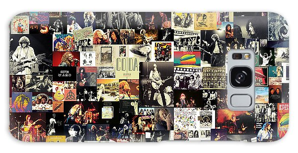 Rock And Roll Galaxy S8 Case - Led Zeppelin Collage by Zapista